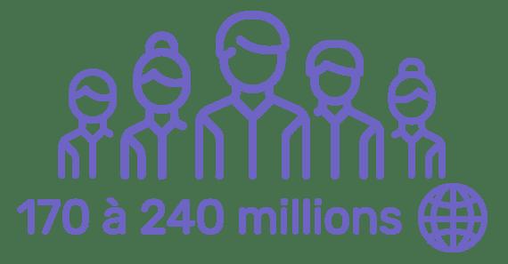 240 millions personnes atteintes de l'hépatite c dans le monde
