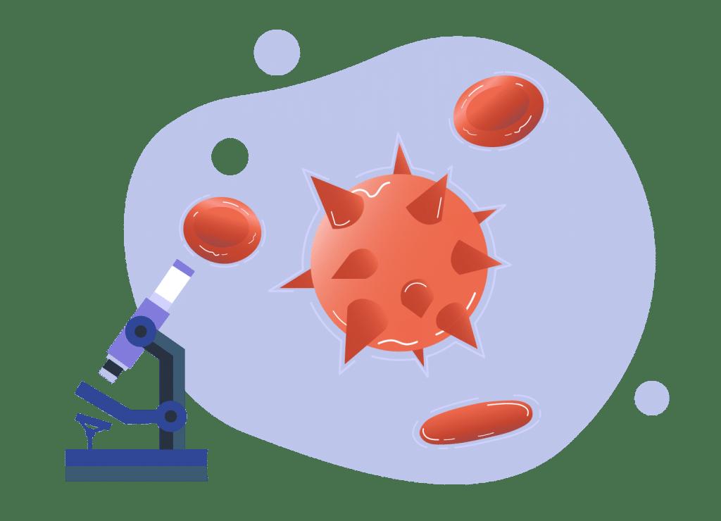 le virus du vih est présent dans le sang